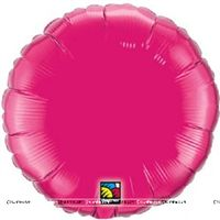 Love theme Pink Round Foil Balloon