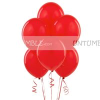 Christmas Decorations theme Red Latex Balloons (Pack of 20)