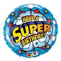 Super Happy Birthday Foil Balloon (18 inch)