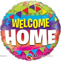Welcome Home Foil balloon