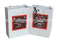 Stickered gift bags - 50th birthday party supplies