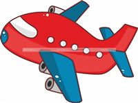 Aeroplane theme Red Airplane