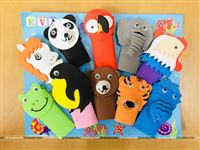 Jungle theme Finger puppets