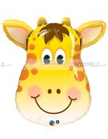 Baby Jungle theme Giraffe Foil Balloon
