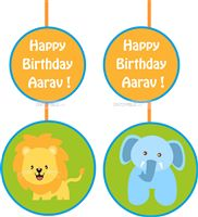 Baby Jungle theme Jungle danglers