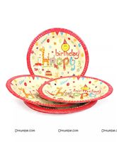 Birthday Party Plates - Baby Animal Jungle birthday supplies