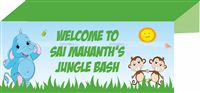 Baby Jungle theme Rectangle Table cover
