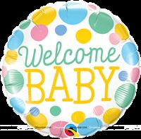 Baby Announcement theme Welcome baby Foil balloon