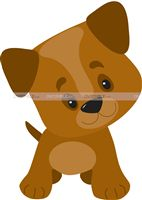 Baby Barnyard theme Cute Puppy Poster