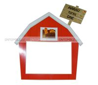 Baby Barnyard theme Photo Booth