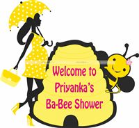 Sunshine BabyShower theme Bee theme Baby Shower