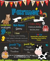 Barnyard birthday theme Barnyard Theme Chalk Board