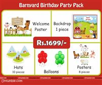 Barnyard birthday theme Barnyard Theme Mini Party Pack