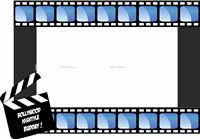 Wedding photo props theme Movie Reel Photo Booth