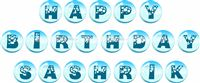 Bubbles Party theme Happy Birthday Banners