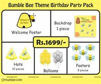 Bumble Bee Theme Mini Party Pack