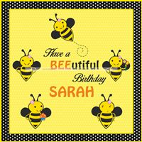 Bumble Bee Theme Birthday Party Supplies