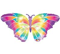 Butterfly Birthday theme Butterfly Shaped Foil Balloon (42 inch)