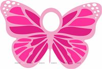 Photo Booth - Butterfly Theme Birthday Party Decoration Supplies