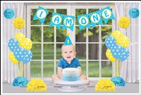 Party kits - Cake Smash Props for boy/girl 1st birthday photo shoot