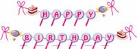 Candy Land theme  - Candy Land Theme Happy Birthday Banner