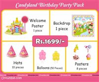 Candy Land theme Candyland Theme Mini Party Pack