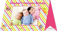 Candy Land theme Photo Frame