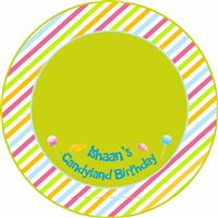 Candy Land theme Round Table Cover
