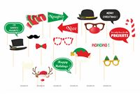 Christmas theme  - Christmas Photo Booth Props