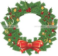 Christmas theme Christmas Wreath