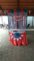 Circus Birthday theme Carnival stage decor