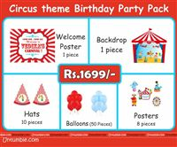 Circus theme  - Circus Theme Mini Party Pack