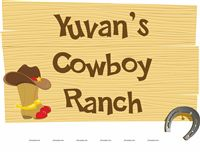 Cowboy theme Cowboy Ranch Sign Board