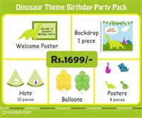 Dinosaur theme Dinosaur Theme Mini Party Pack