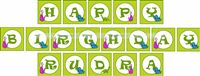 Dinosaur theme Happy Birthday Bunting