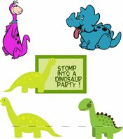 Dinosaur theme Posters pack of 5