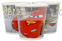 Disney Cars theme Cars Paper Cups (Pack of 10)