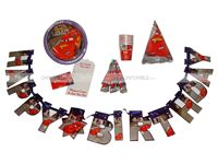 Party kits - Disney Cars theme party supplies