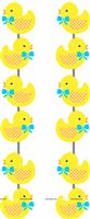 Rubber Duck theme  - Yellow Rubber Duck Danglers