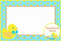 Rubber Duck theme Duck party photo booth