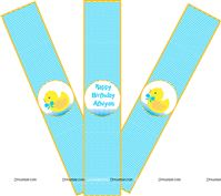 Wristbands - Rubber Duck Theme Baby Shower | Duck 1st Birthday party