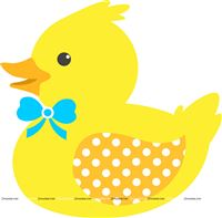 Rubber Duck theme  - Smiling Yellow Rubber Duck poster