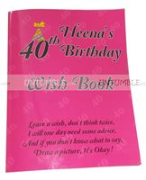 Fab at 40 ! theme Wish book