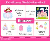 Fairy Princess Birthday theme Fairy Theme Mini Party Pack
