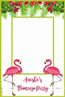 Photo Booth - Flamingo theme birthday party supplies & decor