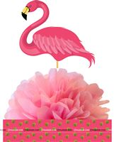 Flamingo supplies theme Flamingo Table centerpiece