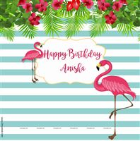 Flamingo theme - Pink Flamingo Backdrop