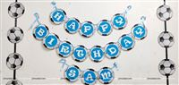 Happy Birthday Banners - Football theme birthday party supplies | Football decor