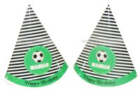 Football birthday theme Hats