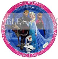Frozen theme Frozen Birthday Party Plate 7""
